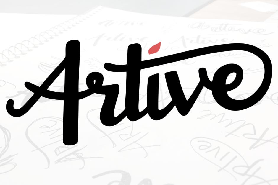 Artive Logo Design