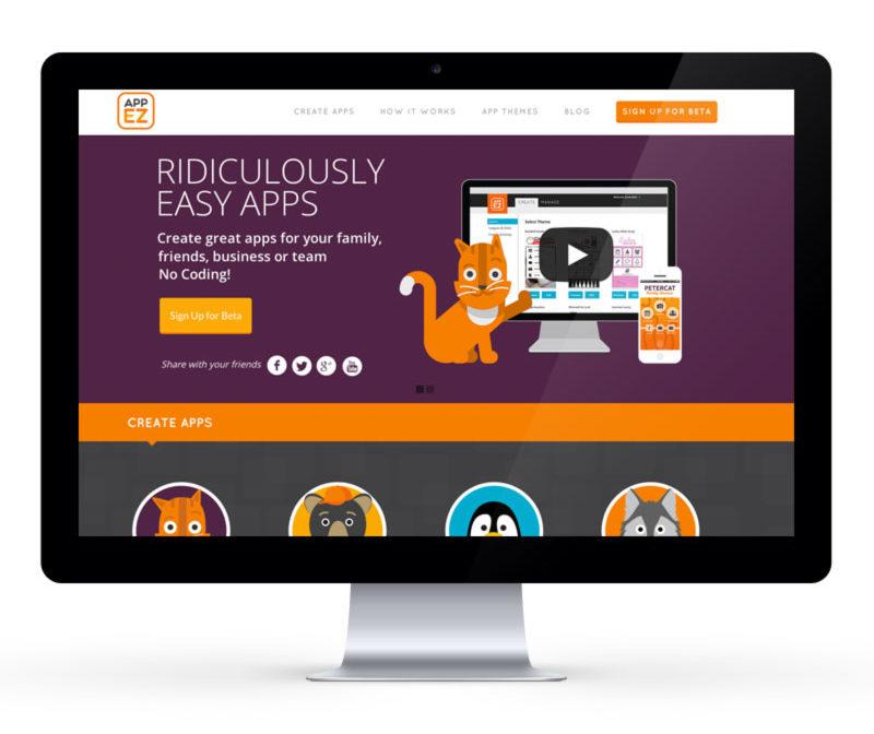AppEZ Website Design