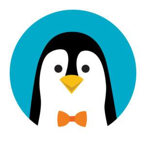 AppEZ Penguin Illustration